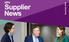 Supplier news banner